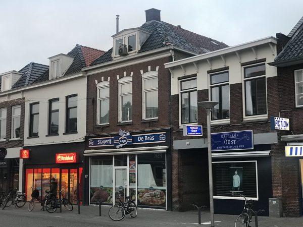 Eerste OBAS vestiging aan de Schrans 87 in Huizum, kantoor aan huis.