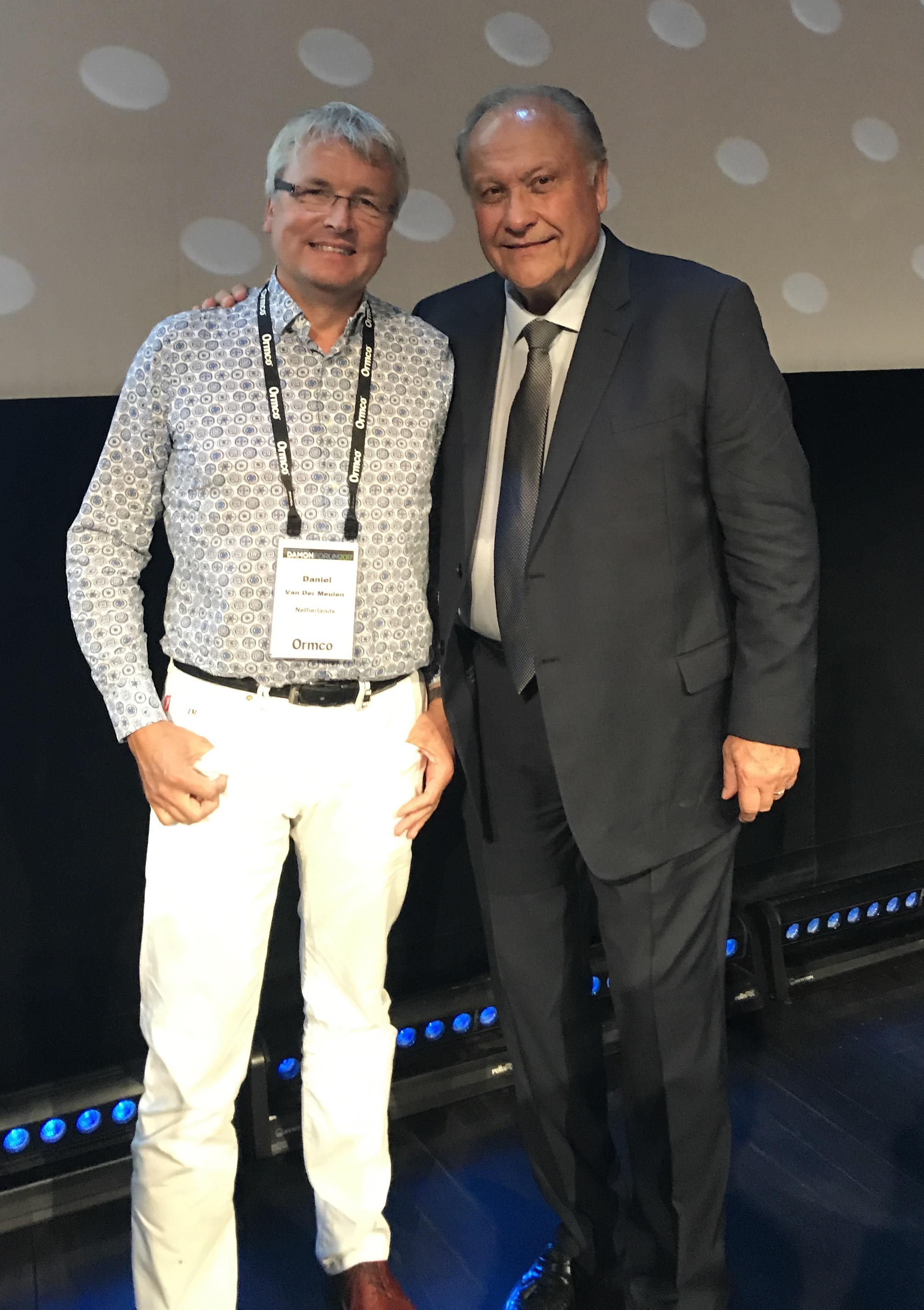 Dwight Damon in Monaco, European Damon Forum 2017 September 2017
