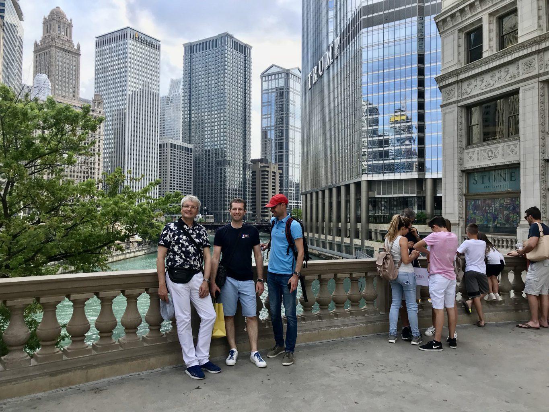 Chicago mei 2018 bij bezoek American Orthodontics fabriek.