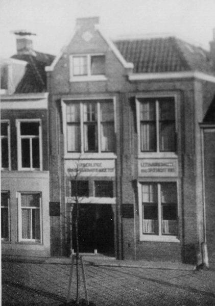 OBAS kantoor aan de Schrans 1925, alleen nummer 59.