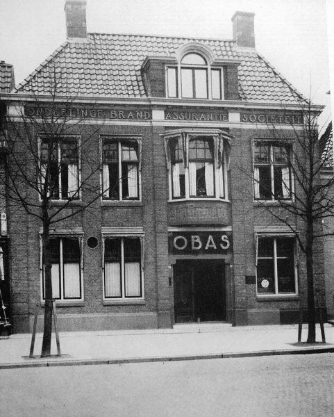 OBAS kantoor aan de Schrans 1940.