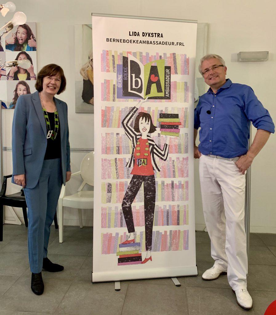 Lida Dijkstra en Daniël van der Meulen waren klasgenoten op het Nassau College in Heerenveen, VWO.